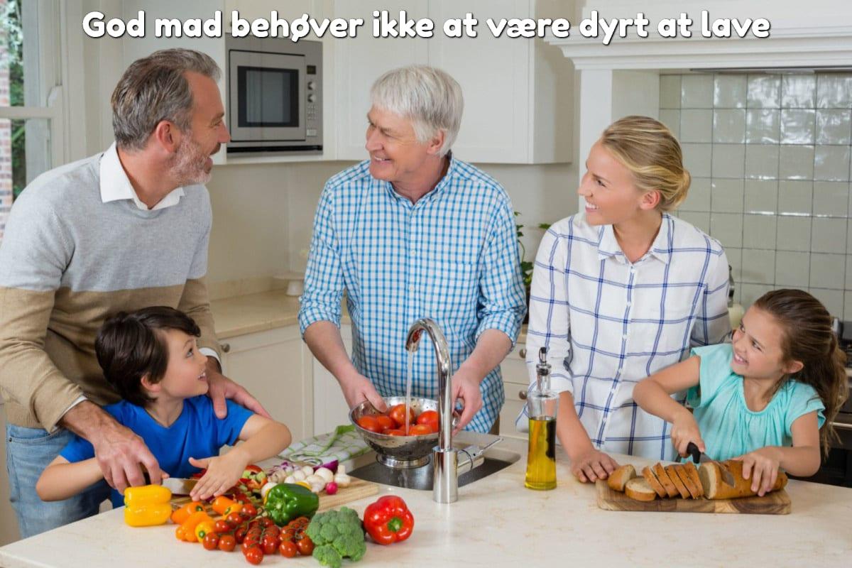 God mad behøver ikke at være dyrt at lave